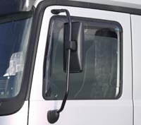 Scania Series 4 1996 to 2005 front Window Deflector (pair)