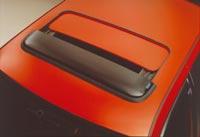 Toyota Avensis (T22) 4 and 5 door, Carina E / Corona (T19), Corolla (E11) 3, 4 and 5 door, RAV 4 5 door, Yaris Verso 5 door and Yaris (Vitz) 3 and 5 door Sunroof Deflector